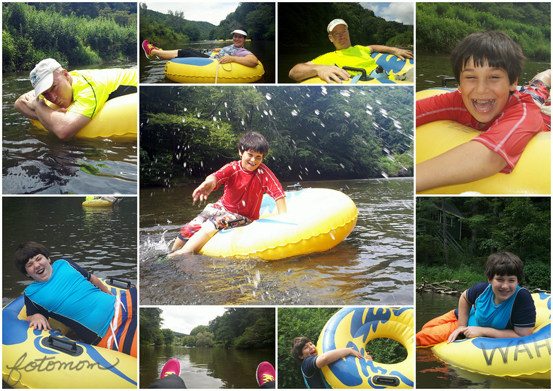07/22/14 - Wahoos Tubing on the New River