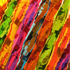 "08/12/09 - This abstract is a little more modern and less like a painting than yesterday's.  Wal-Mart had these cool and colorful party style mixed drink stirrers on clearance a few weeks ago.  I couldn't help but buy them.  They were so colorful.  I knew I'd have to try to use them in some sort of picture.  Well, here you go.  I taped them to a plate with a circular swirly type of pattern in two layers, and this is what I got.  I had a hard time choosing which picture to post.  Some of the pics showed the plate 'circle' better.  At any point, hopefully you don't need sunglasses to view this one:-)  Makes for an eye catching thumbnail, though!  The gallery with the rest is <a href=""http://fotomom.smugmug.com/gallery/9249391_iqbi6/4/617609861_Xeyx4#617606906_L7Tai"">here</a>.  Thanks for all your comments on my flower painting picture from yesterday:-)"