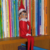 11/28/09 - The Elf on the Shelf<br /> Joey's school teacher has the book and the elf, and she's been carrying on the tradition with the kids moving him around the classroom and letting the kids know that Elfie is reporting back to Santa.  Joey was all the talk about this, so we ordered one for our house, and now our version of Elifie is moving around our house inspiring the boys to be well behaved.  The magic of Christmas for kids and their adults is such a delight:-)<br /> <br /> I was very sick yesterday and on the couch doing not much for a good part of the day.  I was so frustrated that the boys were in front of the TV so long and that I could not do some of the things waiting on me.  Bummer.  Today I feel a bit better, but I've mostly lost my voice.  I'm sure I'll be much better just in time to go back to work on Monday.  Oh well.  I'm hoping this means I'll be well over Christmas now that I've gotten this out of the way over Thanksgiving.<br /> <br /> Thank you so much for the response to my titmouse picture:-)  I went with the version that I did for clarity and detail although I really do like the very last shot I took where he's all wet and on the edge of the birdbath too.<br /> <br /> HAGD,<br /> Maryann