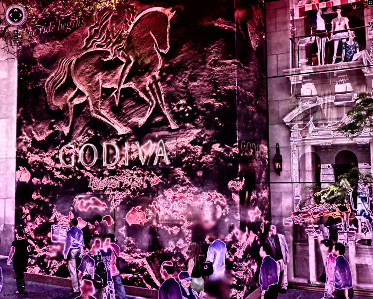 "02/03/12 - Godiva  My Blog:   http://maryanng.blogspot.com/2012/02/godiva.html  This image is NOT mine ~ *the original image above is copyrighted by Google Maps from Street View and is being used for the sole purpose of artistic merit and will not be sold or profited from by the posted individual.  Today's POTD was suggested by fellow Daily Photo Community member <a href=""http://www.scianghettiphotography.com/Photography/Kim-Scianghetti-Photography/17854723_5gCZXM#!i=1689069553&k=kNTfq8k"">Kim</a>.  The challenge was to do a screen capture of any place in NYC on Google maps street view, post process it any way you want, and then post it today with the disclaimer as noted above.   Since it's February, I couldn't resist posting this <a href=""http://www.godiva.com"">Godiva</a> chocolate ad on 646 5th Avenue, New York, NY 10016.  I have romance and chocolate on the brain these days.  Donnie is always surprising me with a tiny Reese's Peanut Butter Cup or a butterscotch:-)    I intentionally tinted the image to Valentine's Day colors in Color Efex Pro.  Here are the filters:  <a href=""http://fotomom.smugmug.com/Nature/February-2012/21295967_jprxmk#!i=1696651558&k=b97J9tq"">SmugMug Link</a>  Here's the original:  <a href=""http://fotomom.smugmug.com/Nature/February-2012/21295967_jprxmk#!i=1696637137&k=pRbwD9N"">SmugMug Link</a>  The light was very pretty in my yard yesterday morning, and the flowers are popping out.  I just wish this bloom didn't have the brown spots.  <a href=""http://fotomom.smugmug.com/Nature/February-2012/21295967_jprxmk#!i=1695942766&k=TrtpSN9"">SmugMug Link</a><br />  I was able to create some cool new textures/backgrounds too.  This is the sky filtered through some tree branches:  <a href=""http://fotomom.smugmug.com/Nature/February-2012/21295967_jprxmk#!i=1695942860&k=N6c7HvQ"">SmugMug Link</a>  This one is light on brown oak leaves:  <a href=""http://fotomom.smugmug.com/Nature/February-2012/21295967_jprxmk#!i=1695942007&k=NMrDb3n"">SmugMug Link</a>  Look at this spring beauty!  <a href=""http://fotomom.smugmug.com/Nature/February-2012/21295967_jprxmk#!i=1696610932&k=NFBZVLp"">SmugMug Link</a>  Thanks for your comments on my B&W trail shot...  HAGD, Maryann"