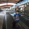 "07/04/11 - First Time Air Traveler<br /> <br /> We're in Navarre, FL for the week.  That's about 25 miles east of Pensacola.  We're staying with our friends the Vollmer Family.  <br /> <br /> This is Johnny at the new terminal at RDU (Raleigh airport).  We didn't have to get on the moving walkway but of course Johnny wanted to check out all the features of the airport.  This trip is the first time Joey and Johnny were up in a commercial plane, and they did great.  <br /> <br /> A collage of more flight shots is here:<br /> <br /> <a href=""http://fotomom.smugmug.com/Nature/July-2011/17840800_GC3pFH#1367244939_Nqfmd2L"">http://fotomom.smugmug.com/Nature/July-2011/17840800_GC3pFH#1367244939_Nqfmd2L</a><br /> <br /> The front side of the backpack you ask?  Lightning McQueen of course:-)<br /> <br /> Have a safe and happy 4th of July!<br /> Maryann"