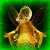 """11/24/09 - Angel of Hope<br /> There is always hope...<br /> <br /> This one is for my mom who was involved in a horrible car accident 24 years ago this week.  She survived the accident but was left disabled.  <br /> <br /> I got it in my head that I should take a picture of this angel.  First off, I couldn't find the power converter.  It took a bit of searching to find one that would work.  Second, she's lit totally from the bottom up, so the first time I tried to capture her picture, her face was in the dark and her body was so bright it would blind you:-(  But, try, try again...  Third, I had this bright idea that the brushed stainless steel dishwasher would make a great background...not!  But, I went back and tried again with some overhead and side lighting and was at least able to do better than the first time.  But, I still ended up enhancing the lines and details of her face in PSE.  PhotoFrame was used to put on the neat 'Zoom' frame.  Boy did I have to fuss with that more than I should have too.  <br /> <br /> A shot of the set-up is here:<br />  <a href=""""http://fotomom.smugmug.com/Art/Angel/10417609_R4Hpp#721981482_8TmE2"""">http://fotomom.smugmug.com/Art/Angel/10417609_R4Hpp#721981482_8TmE2</a><br /> along with many other versions.<br /> <br /> Have a great day, and definitely let your loved ones know how much they mean to you...<br /> Maryann"""