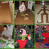 "12/14/09 - The Elf<br /> I'm posting this collage because of sentiment and the story that goes along with it.  It's not really a great collage, and none of the pictures in it are that great either, but it's special to me.<br /> <br /> After we visited the Steve Gerberich Holiday Springs and Sprockets exhibit at the Museum of Life and Science in Durham a few weekends ago, Joey started asking to make his own elf.  I told him that mom didn't have the right equipment (bandsaw) to make a wooden elf but that I thought we could make a pretty good elf out of cardboard.  So, I picked up a few boxes at WM on Friday, and Saturday morning we set out to build our elf.  I modeled our elf loosely after the one in this picture:<br /> <a href=""http://fotomom.smugmug.com/Durham-Museum-of-Life-and/Life-and-Science-120509/10550105_8TvhA#732713055_acSSR"">http://fotomom.smugmug.com/Durham-Museum-of-Life-and/Life-and-Science-120509/10550105_8TvhA#732713055_acSSR</a><br /> <br /> First, I traced the necessary body parts onto the cardboard.  The arm/hand of the elf is Joey's arm/hand.  Then I used a box cutter to cut out the pieces.  It went better than I thought.  I was easily able to cut the cardboard.  Then Joey, with a little help from me, painted the elf.  Mostly I just spread out any extra thick paint on the front and then painted the backs of the pieces and set them off to dry.  Then yesterday, after drying overnight, I used a hot glue gun to put him together.  That also went better than expected.  The glue really holds the cardboard great.  Using some craft supplies I already had around the house, we were able to design a decent face.  Of course I took some pics along the way and after he was done.  <br /> <br /> Joey's pretty happy, so mom's happy.<br /> <br /> I appreciate the comments on yesterday impromptu prism style filter shot:-)<br /> <br /> On-call week is over.  Only 3 call-outs and only 1 of those was in the middle of the night.  I got off easy.  I am sooooo relieved.<br /> <br /> HAGD,<br /> Maryann"