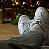 12.16.11<br /> <br /> kickin' back...and waiting for Santa!...LOL<br /> ( Paula's shoe challenge)