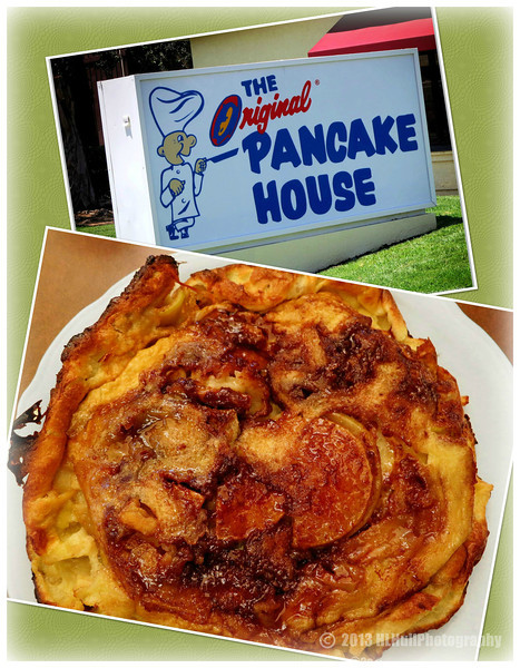 "Apple Pancake...<br /> <br /> We went to ""The Original Pancake House"" for Father's Day, one of our favorite places. I had their Apple Pancake, and it's just flat out GOOD...and filling! It's baked and comes piping hot, straight from the oven! The Original Pancake Houses' are scattered over much of the country. If you have one near by, and haven't been there, I highly recommend you give them a try! <a href=""http://www.originalpancakehouse.com"">http://www.originalpancakehouse.com</a><br /> <br /> I appreciate your comments, thank you!<br /> <br /> Critiques welcome...<br /> <br /> 17 June 2013"