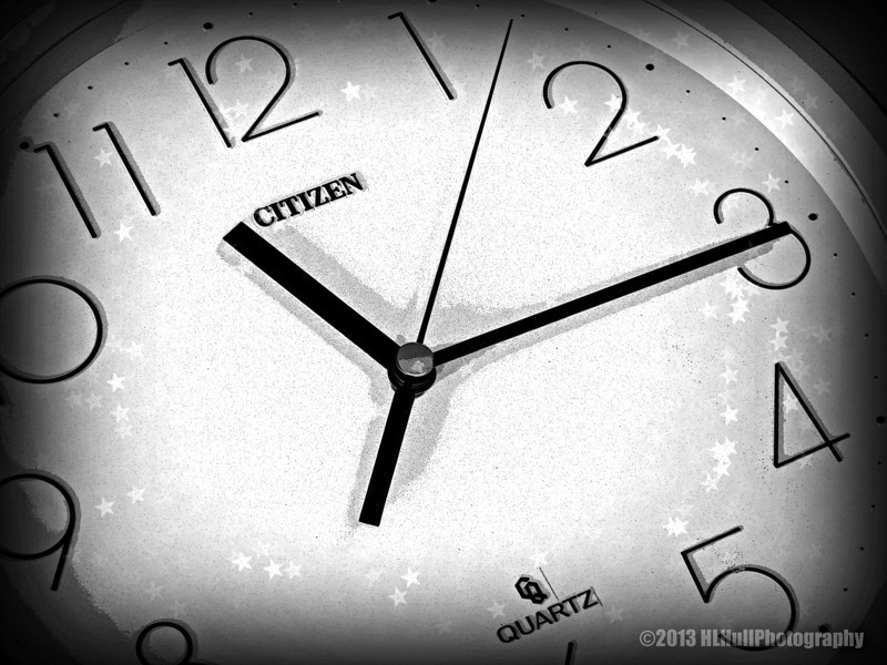 """T"" is for Time...<br /> <br /> My alternate ""T"" shot...<br /> <br /> Thanks you for your comments on my T for ""Tomatoes on the Vine"" post yesterday, much appreciated!<br /> <br /> Critiques welcome...<br /> <br /> 25 November 2013"
