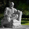 "John Greenleaf Whittier...<br /> <br /> Central Park<br /> Whittier, CA<br /> <br /> Modern Whittier roots can be traced to 160 acres of public land acquired in 1868 by Jacob Gerkens. Gerkens was a German immigrant who paid $234 to the U.S. government for the land under the auspices of the Homestead Act. Mr. Gerkens built a small cabin on the property which stands today as the Jonathan Bailey House. The land changed hands several times before 1,259 acres were acquired in 1887 by a group of Quakers interested in founding a new community in California. The group acquired the land as the Pickering Land and Water Development Company. Many ""Friends"" on the East Coast bought lots from the Company sight unseen, but all ""fair-minded people"" were invited to settle here. Farmers in the area planted barley, beans, cabbage, corn, oats, peanuts, tomatoes and citrus. The town was named after fellow Quaker John Greenleaf Whittier, (December 17 1807 –  September 7 1892) a famous poet, writer and newspaper editor. John Greenleaf Whittier never had the opportunity to visit the town that bears his name but he did write and dedicate a poem in honor of the new City.<br /> <br /> ""My Name I Give To Thee""<br /> Dear Town, for whom the flowers are born,<br /> Stars shine, and happy songbirds sing,<br /> What can my evening give to thy morn,<br /> My Winter to Thy Spring?<br /> A life not void of pure intent<br /> With small desert of praise or blame;<br /> The Love I felt, the Good I meant,<br /> I leave Thee with My Name.  <br /> <br /> Additional info here: <a href=""http://www.cityofwhittier.org/about/default.asp"">http://www.cityofwhittier.org/about/default.asp</a><br /> <br /> January 5, 2013"