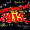 WISHING EVERYONE A VERY HAPPY, HEALTHY AND PROSPEROUS NEW YEAR!   January 1, 2013