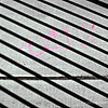 wrought iron shadows...<br /> <br /> The pink 'scrawling' and the contrasty, diagonal wrought iron shadows caught my eye, as kind of an interesting abstract...<br /> <br /> Critiques welcome...<br /> <br /> January 18, 2013