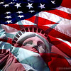 """Happy Fourth of July!<br /> <br /> RAGGED OLD FLAG<br /> by Johnny Cash<br /> <br /> I walked through a county courthouse square.<br /> On a park bench an old man was sitting there.<br /> I said, """"Your old Court House is kinda run down.""""<br /> He said, """"No, it will do for our little town.""""<br /> I said, """"Your old flag Pole is leaning a little bit.<br /> And that's a ragged old Flag you've got hanging on it.""""<br /> <br /> He said, """"Have a seat,"""" and I sat down<br /> """"Is the first time that you've been to our little town?""""<br /> """"Well,"""" he said, """"I don't like to brag,<br /> But we're kinda proud of that ragged old Flag.<br /> <br /> You see, we got a little hole in the Flag there,<br /> When Washington took it across the Delaware.<br /> And it got powder burns, the night Francis Scott Key,<br /> Sat watching it, writing 'Oh, Say, Can You See.'<br /> <br /> And it got a bad rip at New Orleans,<br /> When Packingham and Jackson took it to the scene<br /> And, it almost fell at the Alamo beside the Texas Flag<br /> But she waved on through<br /> She got cut with a sword at Chancerville,<br /> And she got cut again at Shilo Hill<br /> There was Robert E. Lee, Bouregard and Bragg<br /> The South wind blew hard on that Old Ragged Flag<br /> On Flanders Field in World War One<br /> She got a big hole from a Bertha Gun<br /> She turned BLOOD RED World War Two,<br /> And she hung limp and low a time or two.<br /> She was in Korea and Vietnam<br /> She went from our ships upon the briny foam.<br /> <br /> Now they've about quit waving her back here at home<br /> In our good land she's been abused,<br /> She's been burned, dishonored, denied, and refused<br /> And the Government for which she stands<br /> Is scandalized through out the land.<br /> <br /> She's getting threadbare and she's wearing thin,<br /> But, she's in good shape for the shape she's in,<br /> Because she's been through the fire before,<br /> I believe she can take a whole lot more.<br /> <br /> So we raise he"""