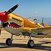 Curtiss P-40 Warhawk...