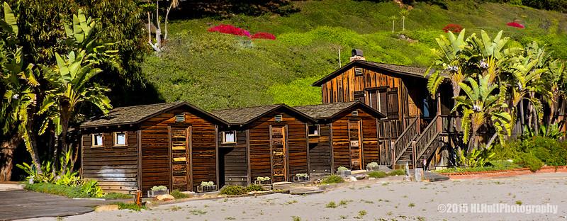 East Beach cabins...