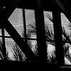 Pedestrian bridge abstract...