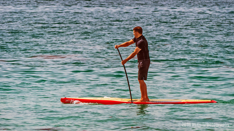 Stand up paddle boarding...