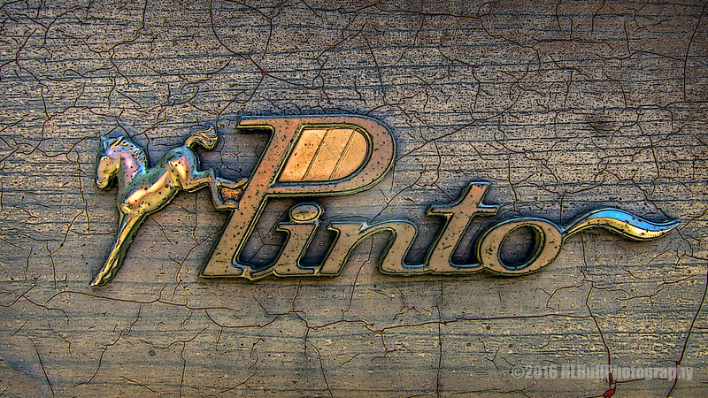 Old Ford Pinto logo...
