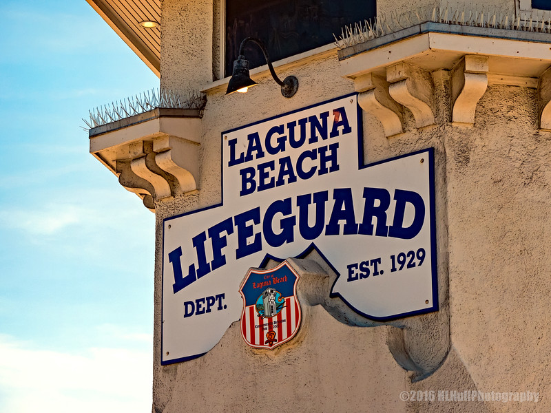 Laguna Beach Lifeguard Tower...