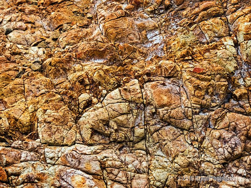 Rocky cliff...