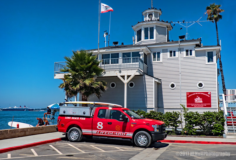 Dutch Miller Historical Lifeguard Station...