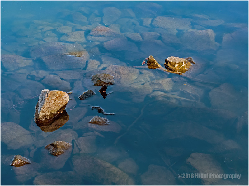 Rocks and water...