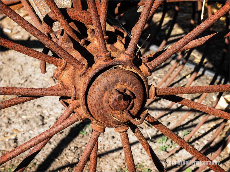 Rusty Old Plow Wheel...