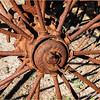Rusty Old Plow Wheel...