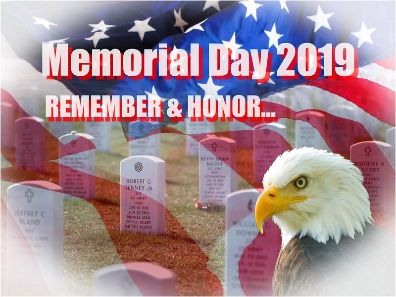 Memorial Day 2019...