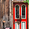 "July 13, 2010 - ""Red Paint""<br /> <br /> Here is another Breckenridge side street door image (and inadvertent self portrait)."