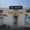 "March 19, 2010 - ""El Cheapo""  One shopping option in Marfa, Texas."
