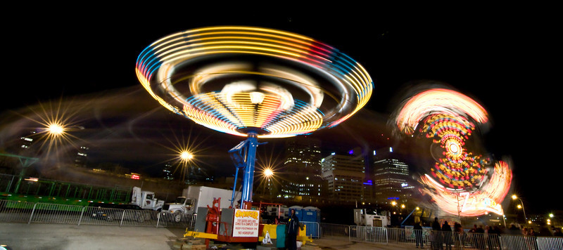 Wonder Shows in Winnipeg!<br /> <br /> These spin rides make me sick. I'll just stick to taking pictures of them.