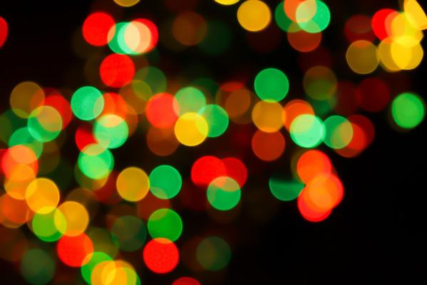 Christmas lights!