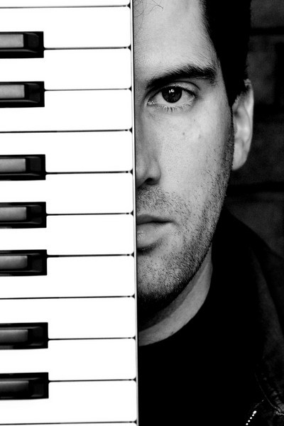 Half man, half piano