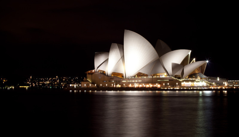 Sydney Opera house: Was on my way to New Zealand, and had a nice 23 hour stopover in Sydney. I was happy to have finally seen the famous Sydney Opera house, something that I had wanted to see for a while. Admittedly, not as impressive during an overcast day.