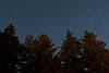 Another attempt at a star trail, taken at Lake Shikaribetsu.