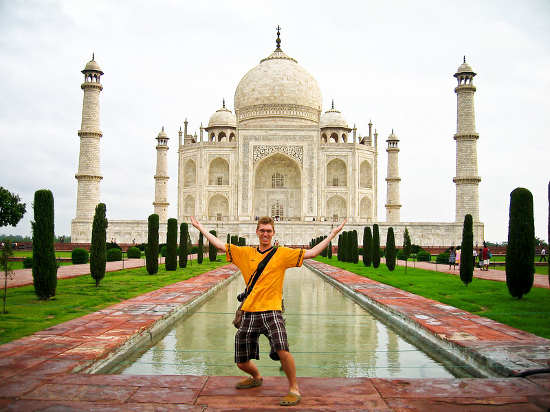 Oh, just the Taj Mahal. No big deal :-)