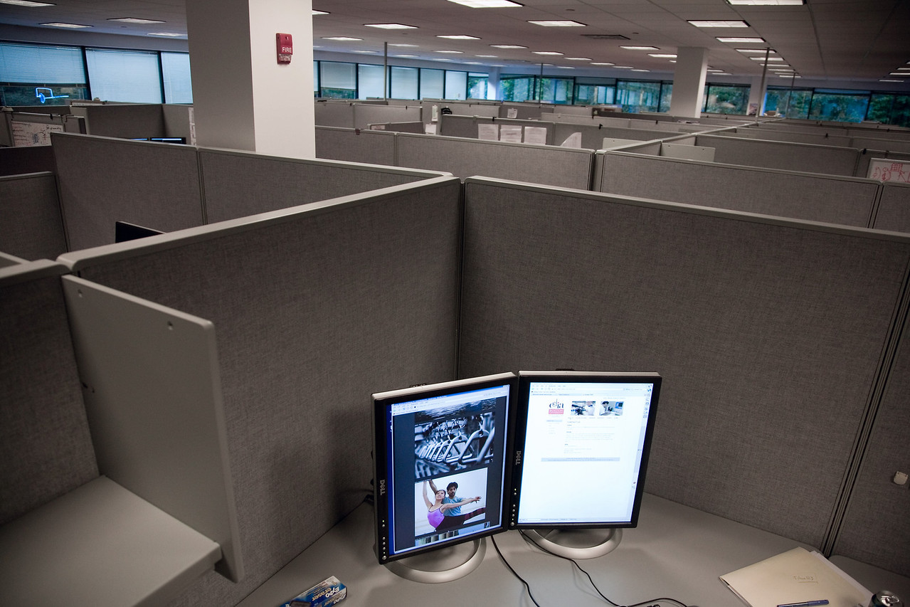 <h3>The Sea of Cubicles</h3> 20 September 2006