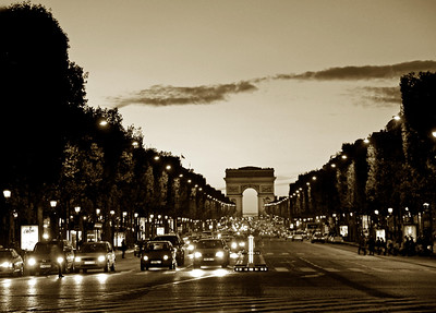 2006-10-04  Arc de Triomphe from the Champs Elyses Paris, France