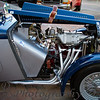 "10-20-2011<br /> ""Classic Car""<br /> <br /> I asked John to identify this car for me because I am not knowledgeable about cars other than the ones I like.  LOL  He said it was an MG TC or TF dated 53 or 54 that had been modified for racing.  I posted the hood ornament on daily photos and that shot was taken from the other side of the car.  What I liked about this one is the reflections in the headlight and windshields, such as they are, that show up especially in larger sizes.  It's a cool car all around.<br /> <br /> Your comments on Sutton's photo are graciously appreciated.  I think she is a beautiful child but of course she is my granddaughter.  LOL  She is just as beautiful on the inside.  She is growing up too fast for me, but she promises she will always be my ""lollipop!""<br /> Donna"