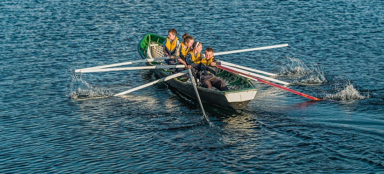 Naomhóg racing in Dingle Ireland