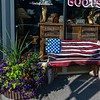 Old Glory -  taken along the main street in Steamboat Springs, Colorado