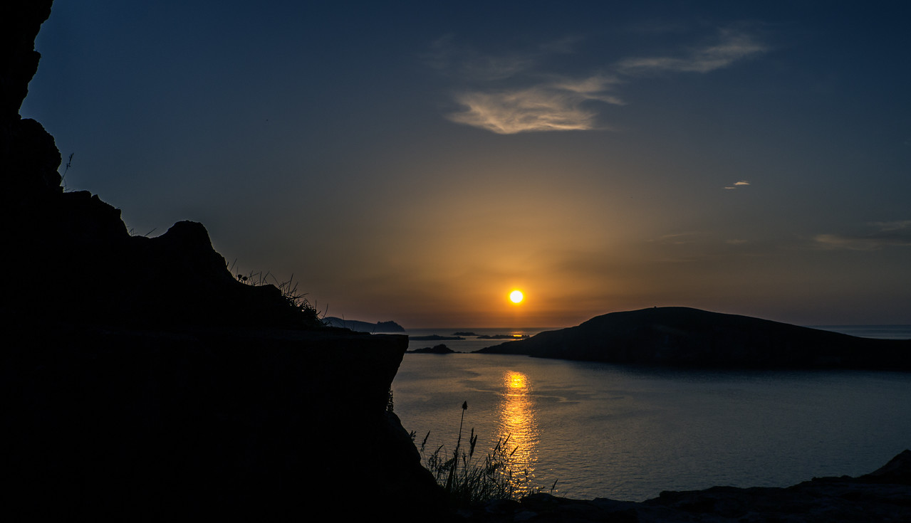 June 10th 2013 - Sunset over the Blasket Islands... There were 4 other photographers taking photos as well last night..