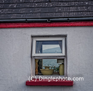 A Dingle Peninsula house window