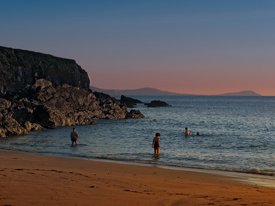 Swimming in paradise yesterday  at Beenbawn beach Dingle