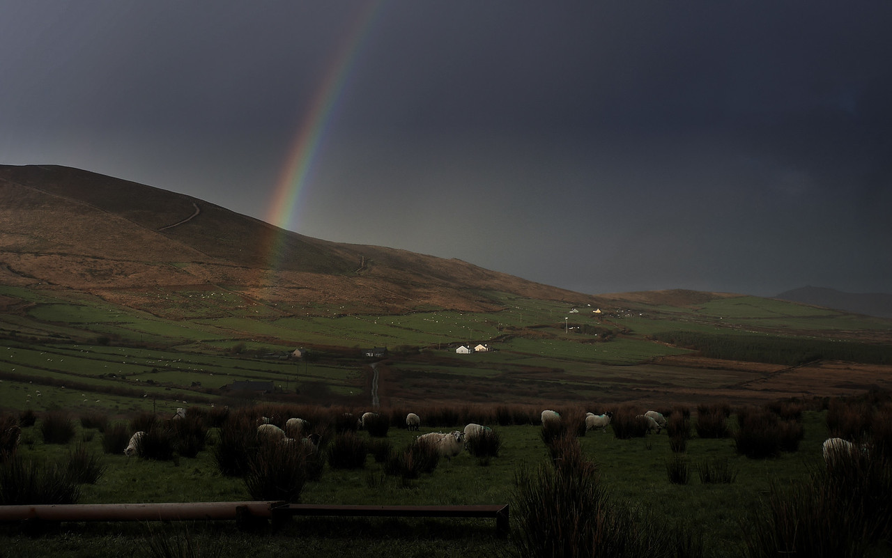 A December Rainbow in the Dingle Peninsula