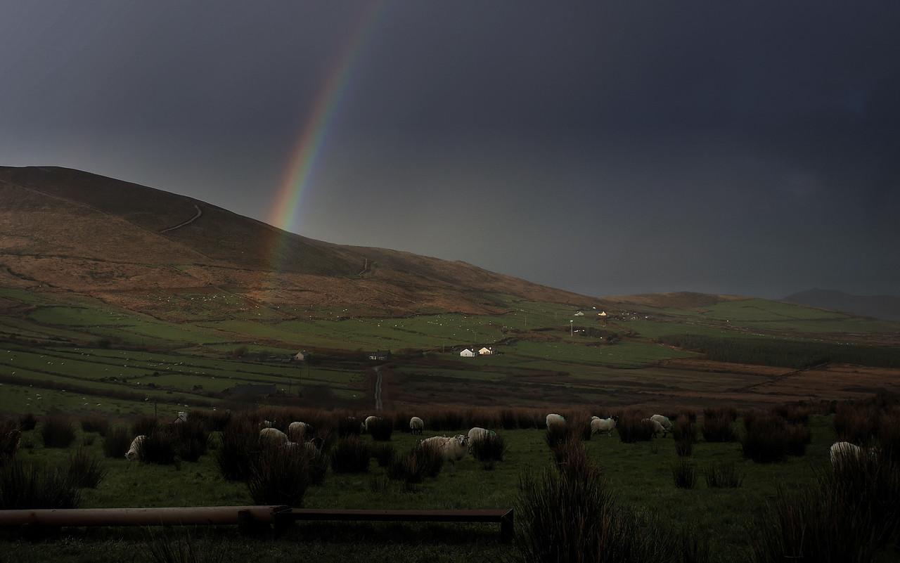 A December Rainbow in the Dingle Peninsula