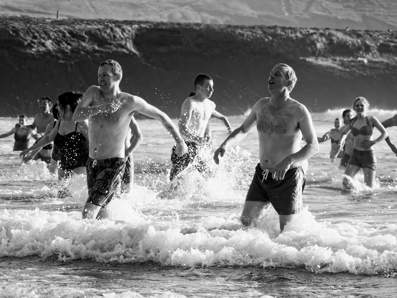 Christmas 2013 Swim in the Dingle Peninsula