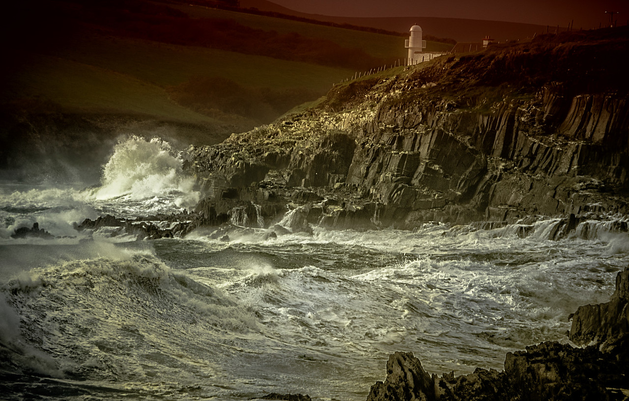 The Lighthouse facing the Storm