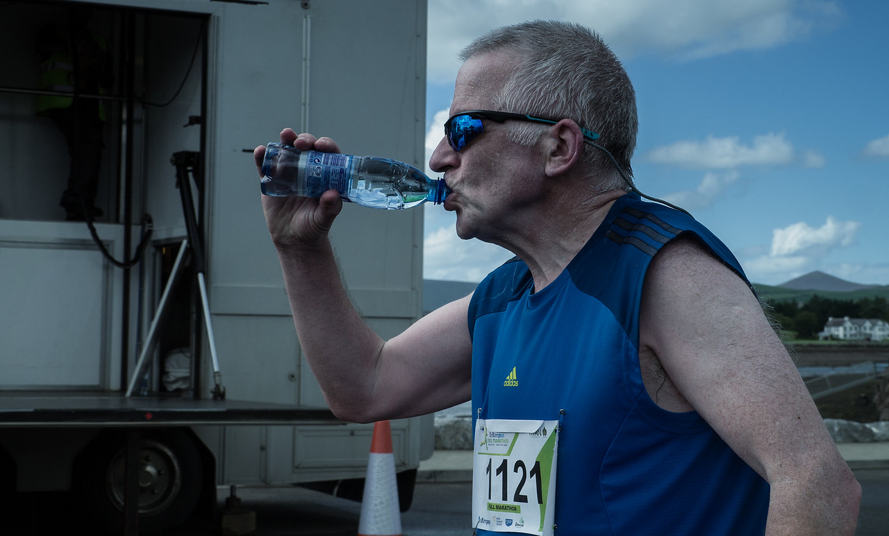 A Marathon can be thirsty work