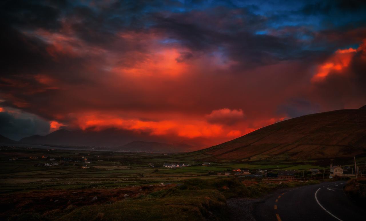 Sunset on the Dingle Peninsula