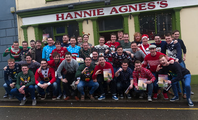 Happy Dingle guys celebrating Christmas 2014