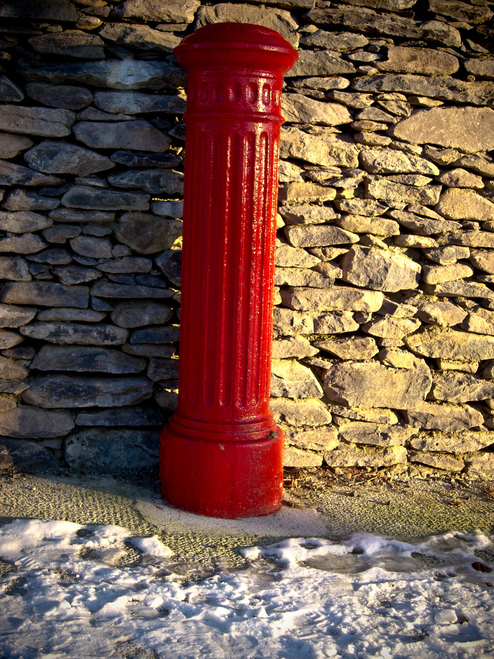 Early Christmas morning Dingle Pier Co Kerry Ireland.  I love the contrast of colors